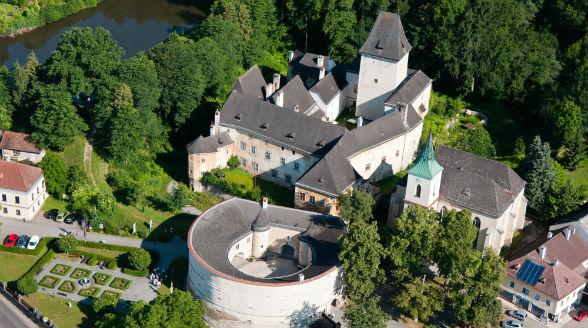 Schloss und Rondell Pöggstall